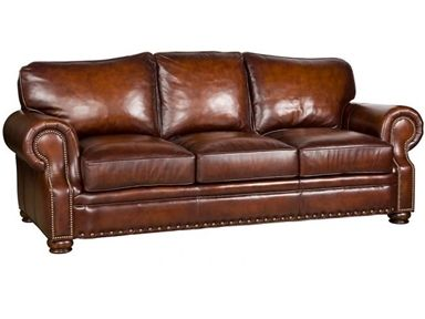 Shop for King Hickory Easton Leather Sofa, 1600-L, and other .