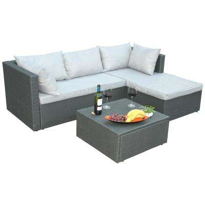 Top 20 of Greta Living Patio Sectionals With Cushio