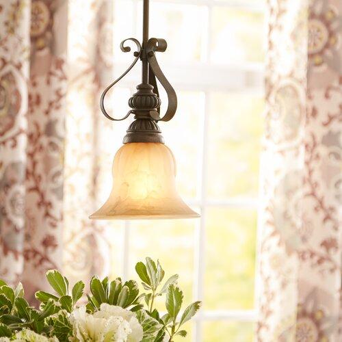 Easton Semi Flush Mount or Ceiling Fan Light & Reviews | Birch La