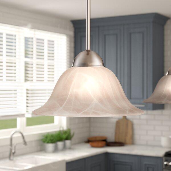 Charlton Home Van Nest 1-Light Single Bell Pendant & Reviews | Wayfa
