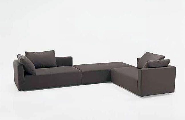 contemporary modular sofa HALIFAX : AMBROGIO Tisettanta | Modular .