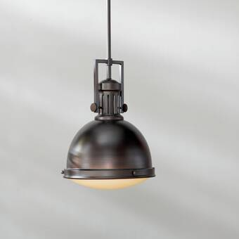 Laurel Foundry Modern Farmhouse Hamilton 1 - Light Single Bell .