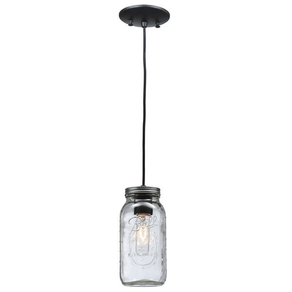Gracie Oaks Fort Hamilton 1-Light Mini Pendant | Wayfa