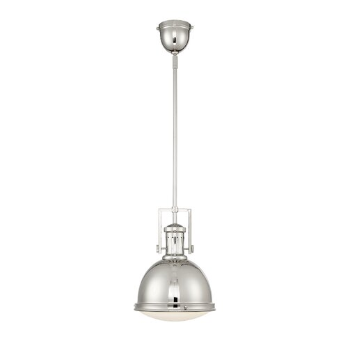"Orren Ellis Dafne 1 - Light 14"" Simple Circle LED Semi Flush Mount ."