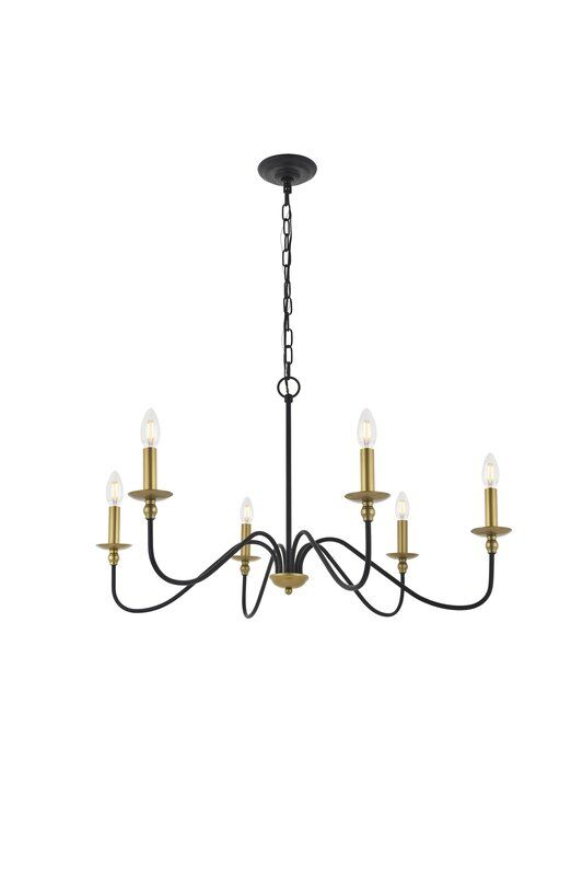 Hamza 6-Light Candle Style Chandelier & Reviews | Birch Lane .