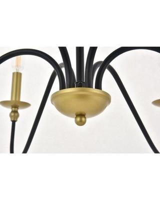 Hamza 6 Light Candle Style Chandeliers