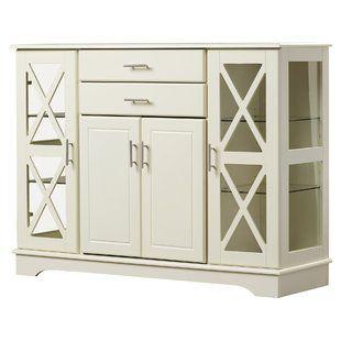 Haroun Mocha Sideboard | White sideboard buffet, Home, Furnitu
