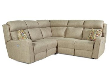 Design 2 Recline Living Room First Class Sectional 718-Sectional .