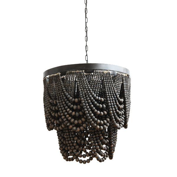 You'll love the Hatfield Metal/Wood 3-Light Empire Chandelier at .