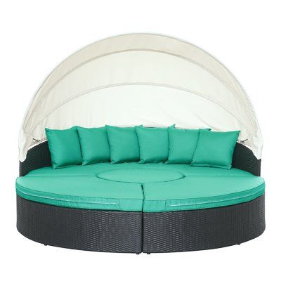 Hatley Patio Daybed with Cushions | Patio daybed, Canopy outdoor .