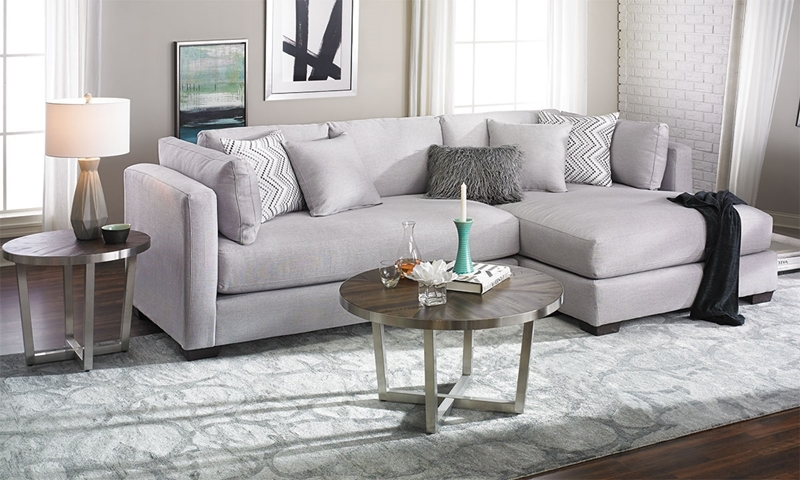 Parker Oversized Contemporary Sectional Sofa in 2020 (With images .