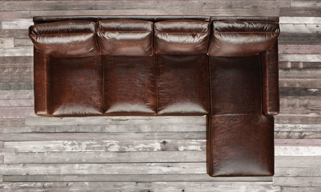 Haynes Furniture| Leather Sectional Sof
