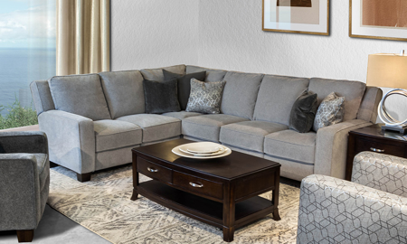 Haynes Furniture| Sectional Sof