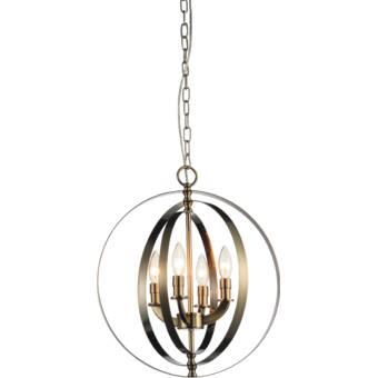 Breakwater Bay Estrella 4-Light Globe Chandelier & Reviews   Wayfa