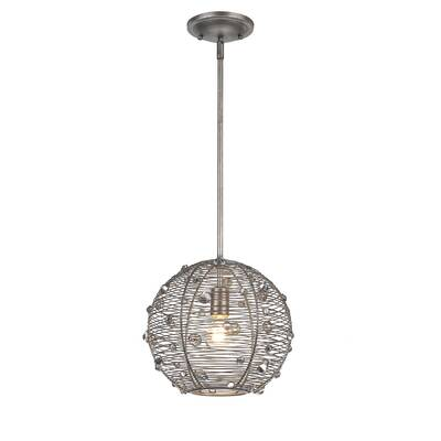 Willa Arlo Interiors Hermione 3 - Light Single Drum Pendant .