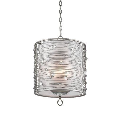 Willa Arlo Interiors Hermione 3-Light Pendant Finish: Silver .