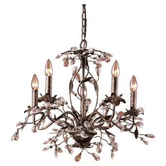 Hesse 5 - Light Candle Style Chandelier & Reviews | Joss & Ma