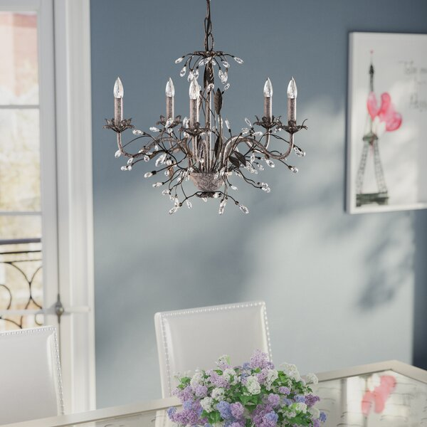 Hesse 5 Light Candle Style Chandeliers
