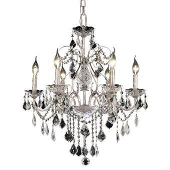 Hesse 5 - Light Candle Style Chandelier | Elegant lighting, Candle .