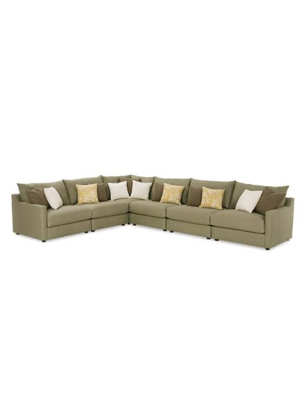 Tempo Sectional Sofa ― Four Chairs Furniture (but in gray .