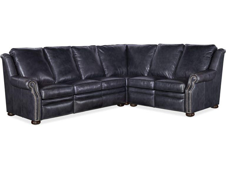 Bradington Young Living Room Pauley LAF Sofa Recline At Arm w .