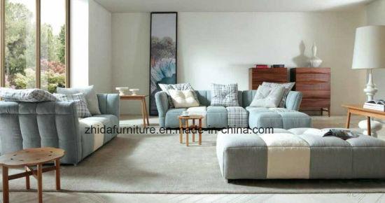 China High End Fabric Sectional Sofa Set for Villa - China .