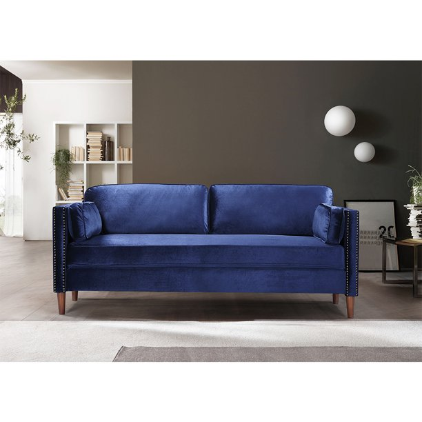 URHOMEPRO Upholstered Sectional Sofa, Mid Century Modern Couches .