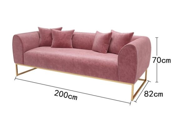 China Modern Design Wooden 7 Seater Sectional Sofa Set, High .