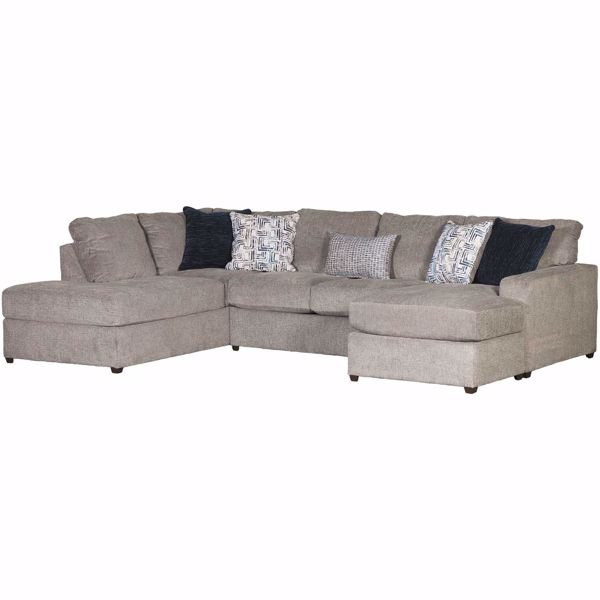 Oasis Flagstone 2 Piece RAF Sofa Chaise Sectional | Lane Home .