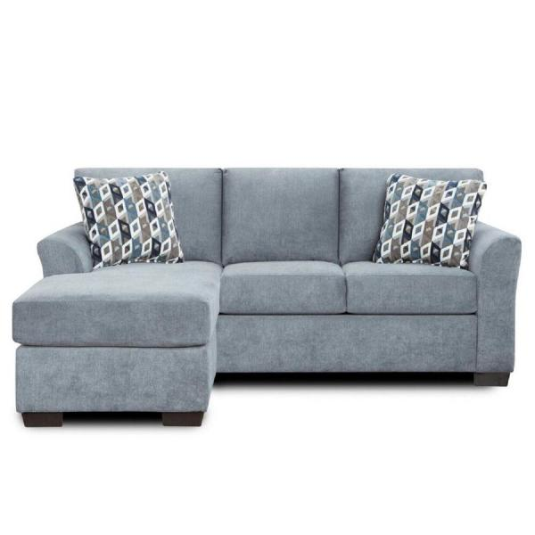 Chelsea Home Furniture Weaver Cosmopolitan Gray Polyester 4-Seater .
