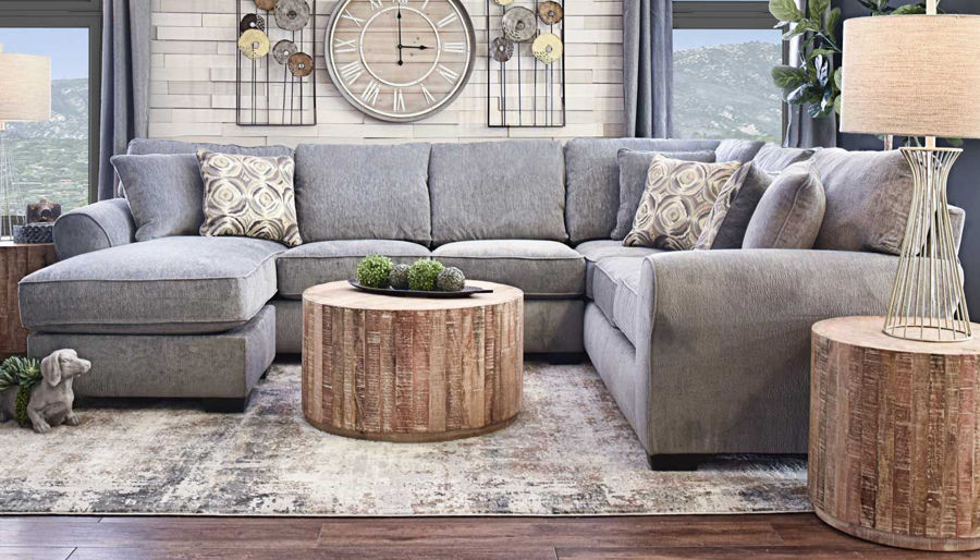 Athena Sectional - Home Zone Furniture - Furniture Stores serving .