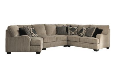 Ashley Katisha 4-Piece Sectional (With images) | Homemakers .