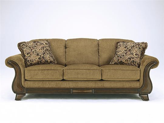 ASHLEY Lansbury Autumn Sofa - 92 by 40 by 39, Ashley furniture .