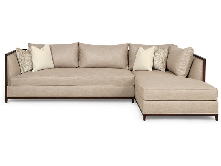 Christopher Guy Living Room Seurat Sectional Sofa 60-0506 - Noel .
