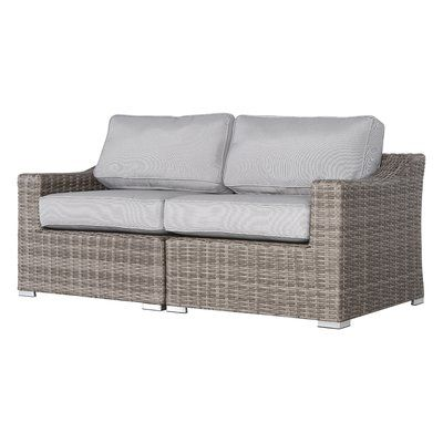 Sol 72 Outdoor Dayse Loveseat with Cushions | Love seat, Furniture .