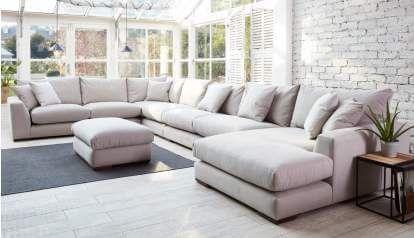 Huge U Shaped Sectionals – incelemesi.net in 2020 | Corner sofa .