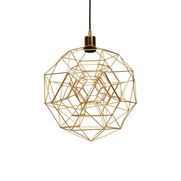 Tinney 1-Light Single Geometric Pendant & Reviews | AllMode