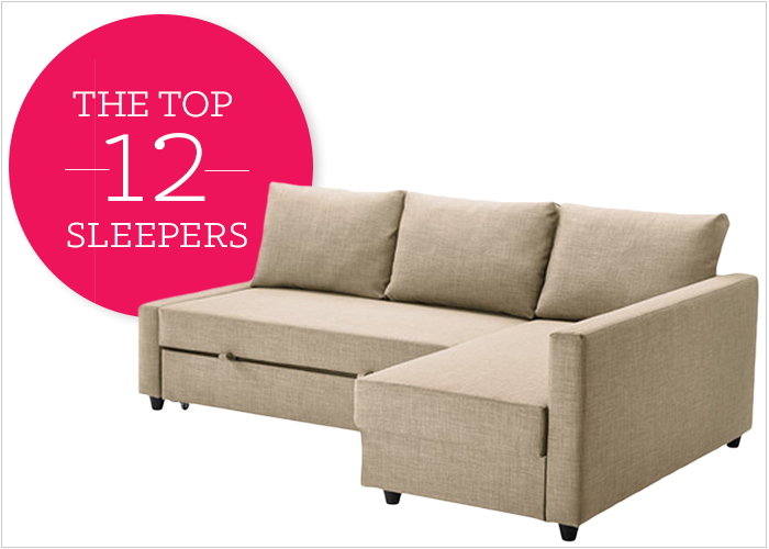 12 Affordable (And Chic) Small Sleeper Sofas For Tight Spaces .