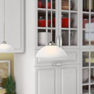 Alcott Hill® Alcott Hill® Irwin 1 - Light Single Dome Pendant .