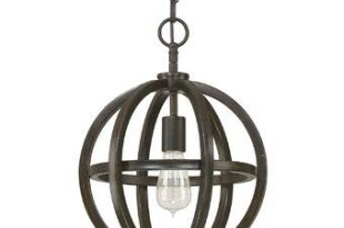 Trent Austin Design® Irwin 1-Light Single Globe Pendant & Reviews .