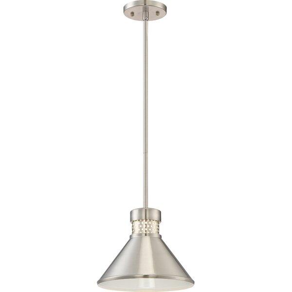 Trent Austin Design Irwin 1-Light LED Single Cone Pendant .