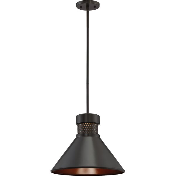Trent Austin Design Irwin 1 - Light Single Cone LED Pendant .