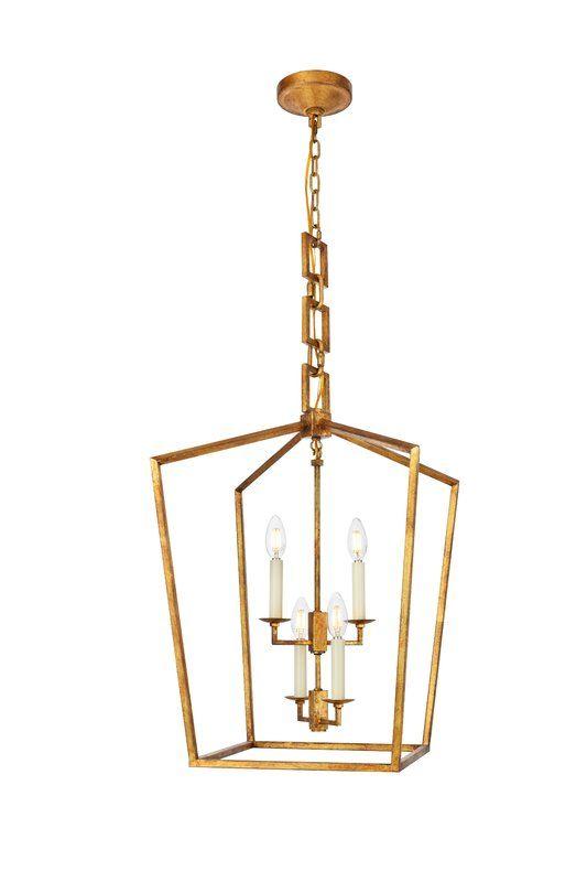 Tiana 4 - Light Lantern Geometric Pendant | Foyer decorating, Iron .