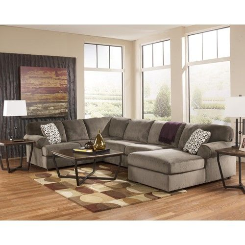Signature Design by Ashley Jessa Place - Dune Casual Sectional .