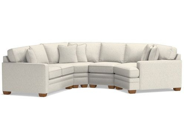 La-Z-Boy Living Room Sectional 694 - D Noblin Furniture - Pearl .