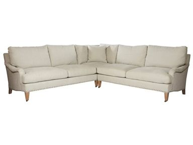 Lillian August Living Room Marston 2 Pc Sectional 1263588 at Batte .