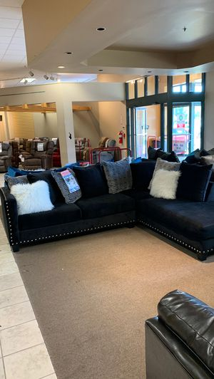 New and Used Black sectional for Sale in Jackson, TN - Offer