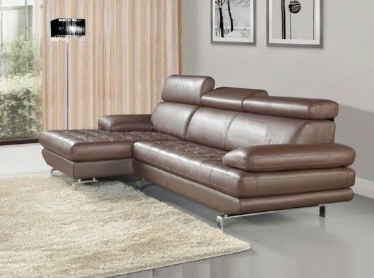 Stylish, beautiful, modern and very comfortable sectional sofa .