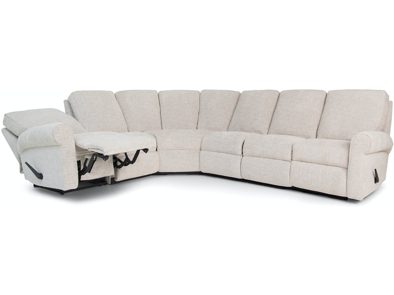 Smith Brothers Living Room 421-Sectional - Woodchucks Fine .