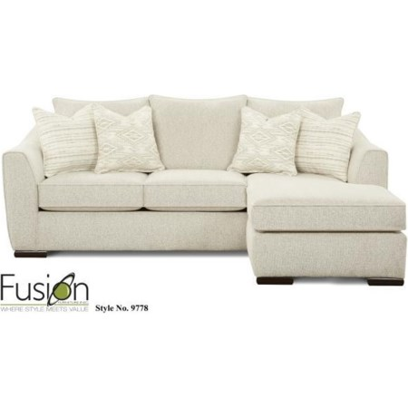 Sectionals Fusion Furniture in Jacksonville, Greenville, Goldsboro .